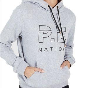 P.E NATION RUN UP HOODIE